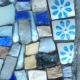 Fleurs bleues - détail