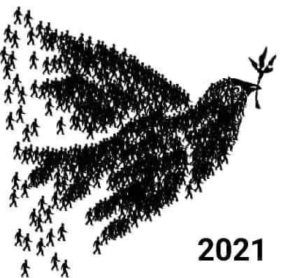 Bonne année 2021 à l'atelier 9