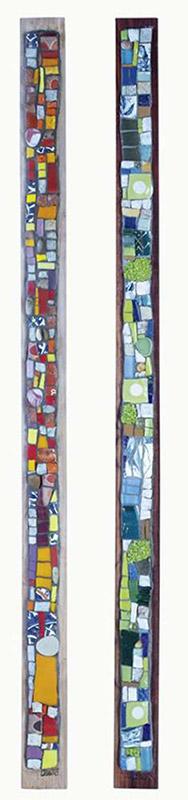 Bijoux de mur mosaïque à la vente