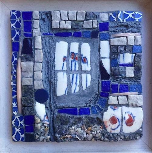 l'heure bleue mosaique création vente décoration collection privée