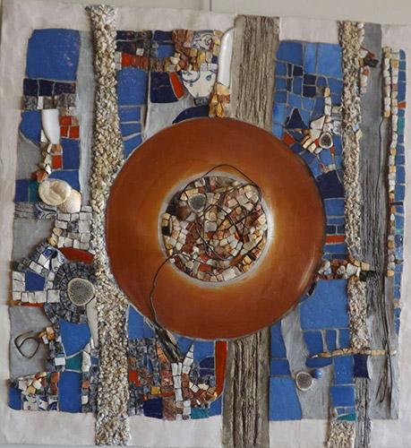 Giovanni Mirabasi mosaique création vente décoration