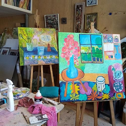 Stage de peinture Acrylique adultes